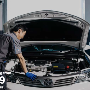 Servicing from $169 & Brake Pads from $165
